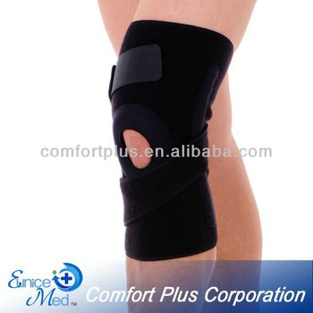 Neoprene Spandex open Knee Support