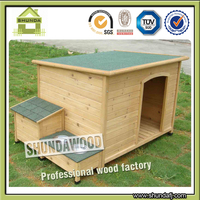 SDD0603 large outdoor wooden fold waterproof dog house