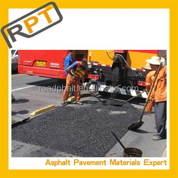 Roadphalt all-weather cold paving material (permanent repair)