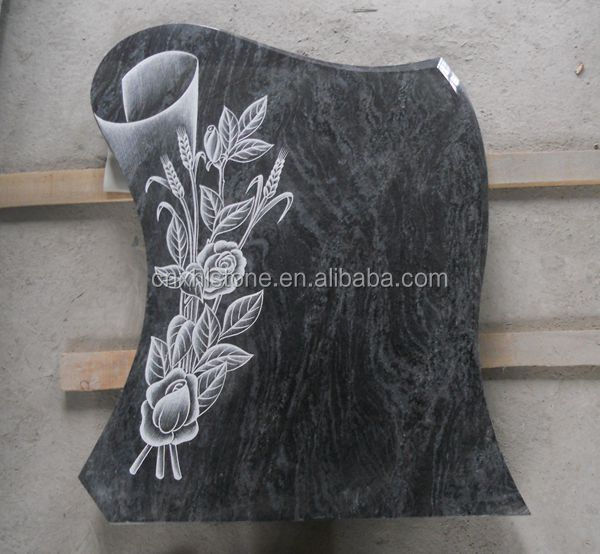 tree design carving headstone