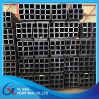 ERW welded square steel pipe for supporting framework