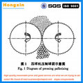 4T/h Hydraulic round oval square Charcoal Briquette Ball Press Machine