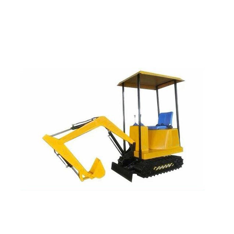 Amusement park equipment kids excavator