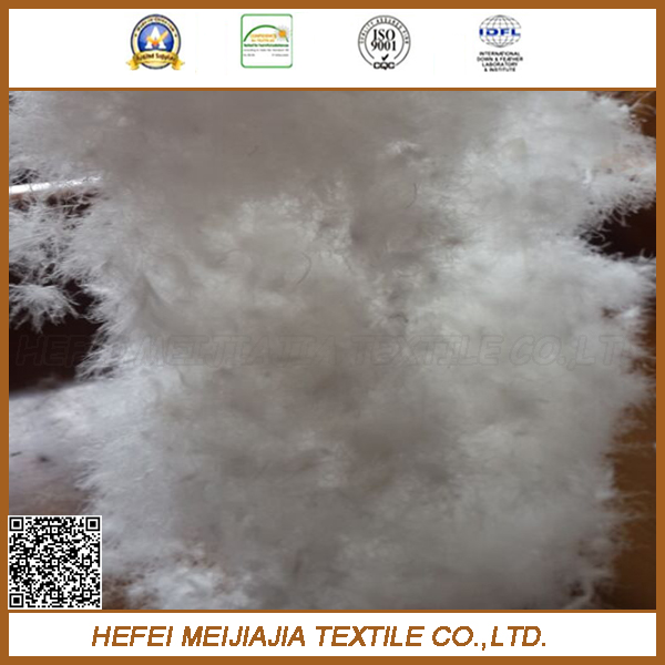 filling material white washed 90/10 duck down feather for sale