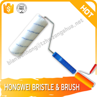 decorative pattern soft paint brushes roller brush
