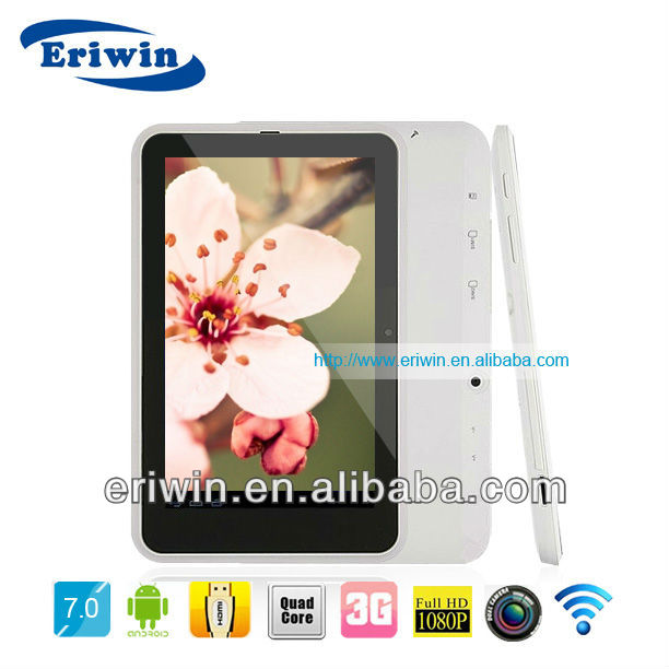 ZX-MD7010 Cheapest! 7 inch Quad core gps quad core hyundai android tablet 3g device with charger