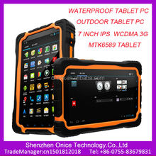 7 inch waterproof tablet pc T70 tablet IP67 MTK6589 Quad core Android 4.2 waterproof rugged tablet with 3G phone function
