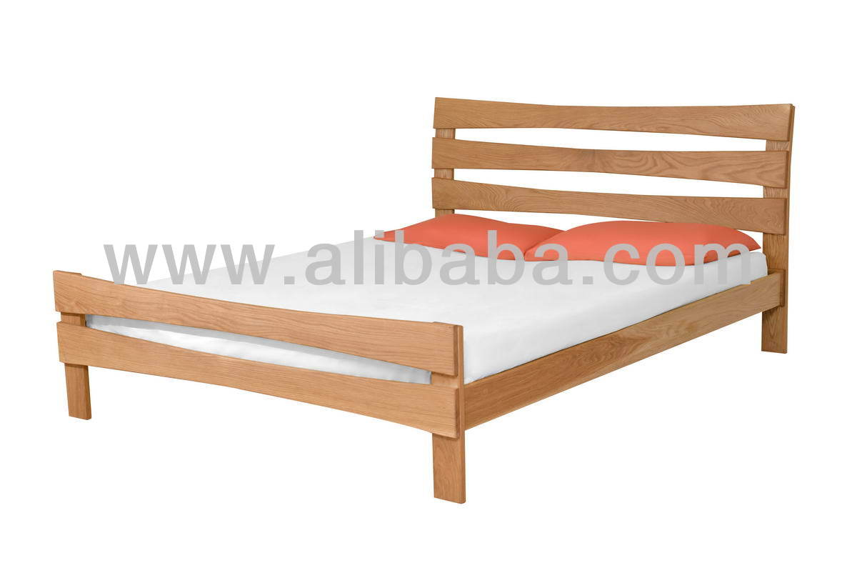 Annalisa King Size - made in USA White Oak