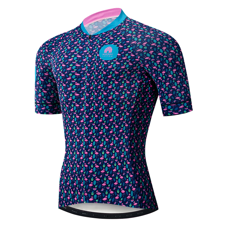 High quality sublimated print trek cycling jersey customized your own top bicycle clothes unisex ciclismo apparel