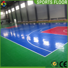 Guangzhou factory supply pp interlocking indoor basketball floor tile,temporary flooring for sport
