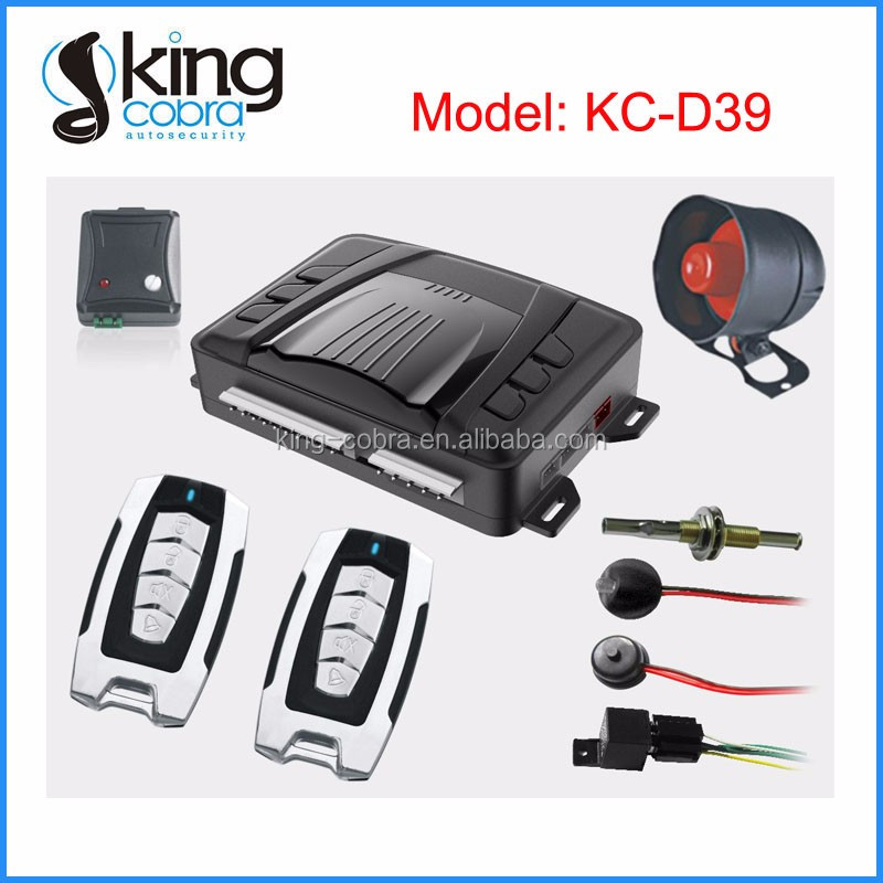 KC-G05 Auto Car Systems Alarm with Different Remote Available