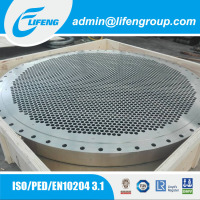 Hot Sale Stainless Steel Tubesheet Baffle