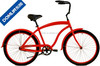 China manufaturer price 26 inch steel men's beach cruiser bike