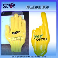 advertising inflatable hand , giant inflatable hand , inflatable cheering hand