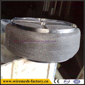 crazy selling stainless steel wire mesh demister