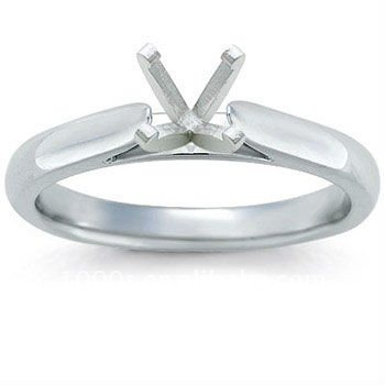 cathedral solitaire ring settings without stones