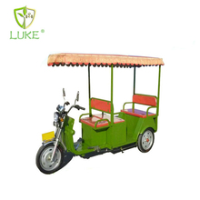 China bright shinning GREEN color popular India good electric tricycler rickshaw - three wheel motorcycle