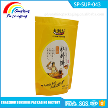 Hot Selling Resealable Ziplock Plastic Pouch Doypack Bags for Food Packaging