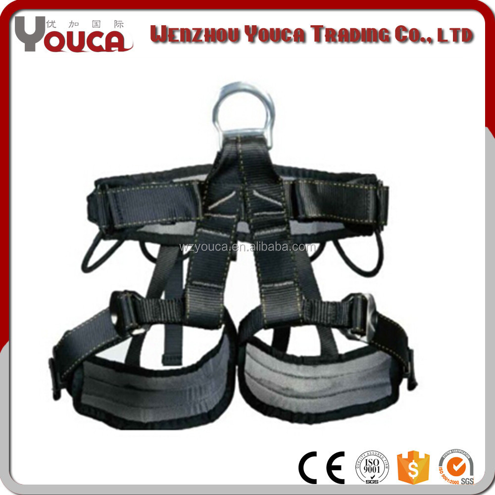 Outdoor climbing industrial safety harness ,mens tree climbing body harness