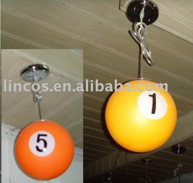 billiard balls lighting