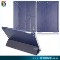 mobile accessories folding leather smart covers for ipad 5