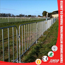Factory Galvanized Temporary Fence / Crowd Barrier / Barricade for Security Fence