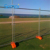 cheap portable temporary fence post base O/A payment