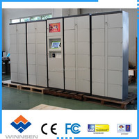 Barcode type electronic lockers / supermarket storage cabinets