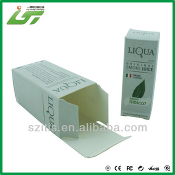 Luxury custom high quality white kraft paper box and white paper box