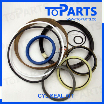 WA300-1 wheel loader spare parts 707-99-32100 oil seal kit for hydraulic cylinder 707-00-10040