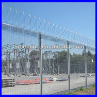 china factory sale wire mesh fence for highway, railway, city