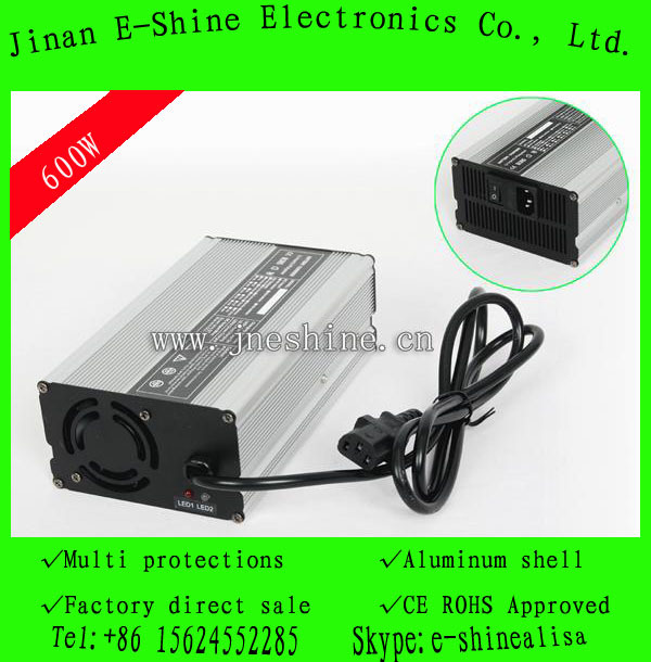 AC 110V E-Shine Smart Battery Chargers For Wheelchair 36Volt