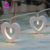 Love Shape Holiday Party Battery Operated Led Christmas Decoration Led Light Chain