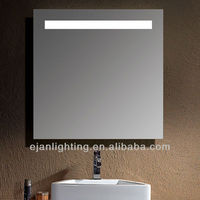 Lighting wall hanging french bathroom vanity mirror with LED light