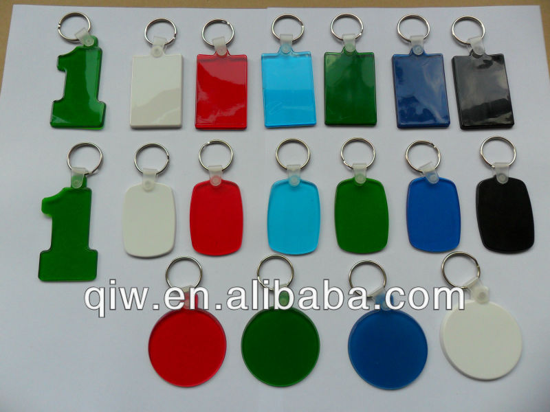 souvenir keyring chinese promotional plastic blank key tags