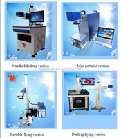 China factory provide alloy ornaments/metal bell laser marking machine