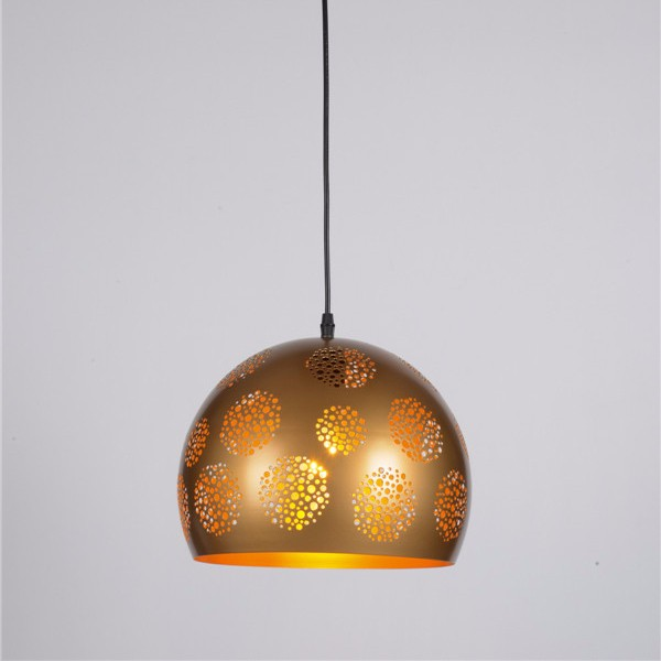 Traditional Moroccan Hanging Lights Modern Iron Chandelier Etch Shade Pendant Lamp