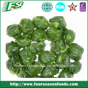 Top Sale Frozen Spinach Brands,Frozen Spinach