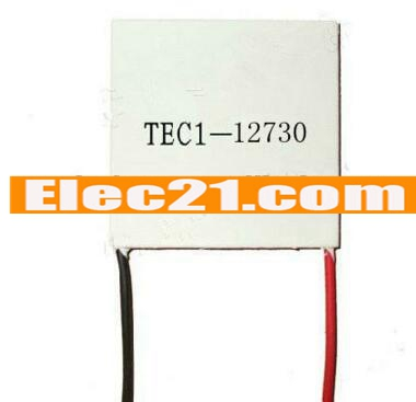 TEC1 - 12730 30A 12V 253W 62 * 62 * 4.2MM Thermoelectric Cooler Peltier Plate element
