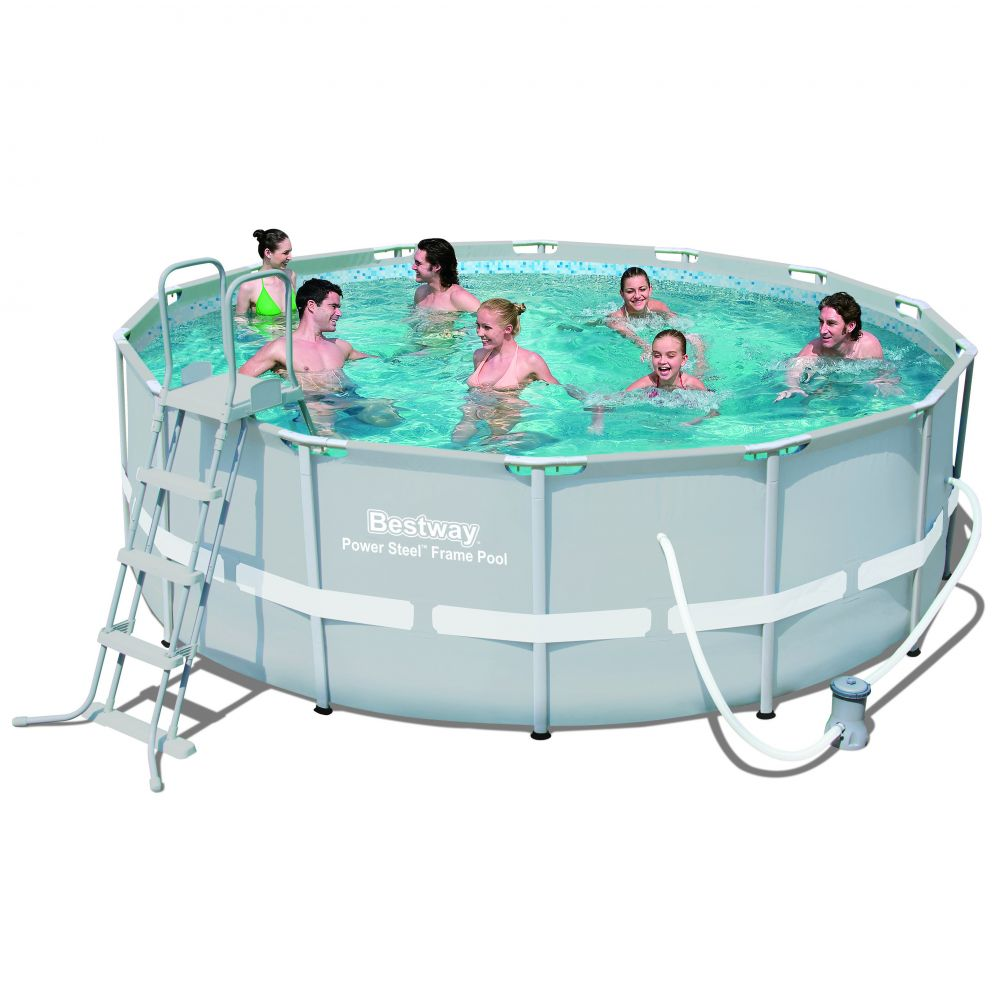 Bestway 14FT 16FT 18FT 20FT 22FT Power Steel Metal Frame swimming pool