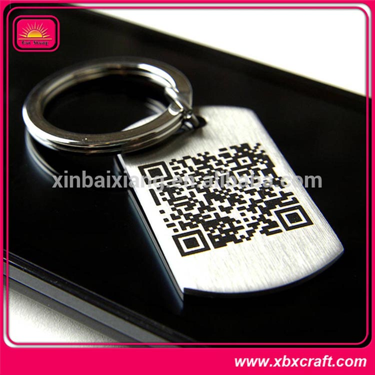 Blank metal keyring for promotional items
