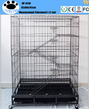 Cheap wire mesh double dog and cat cage carte