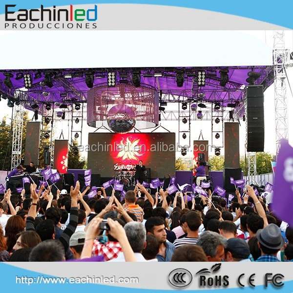 High Quality Stage Background Outdoor P5.95 Led Screen Display