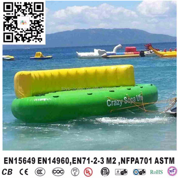 Inflatable towable water sports Crazy UFO 5.5X3M 0.90MM PVC