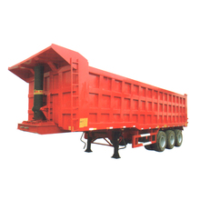 Hydraulic Cylinder Side Dump Truck Side Tipper Dumper Truck Axle Size Optional