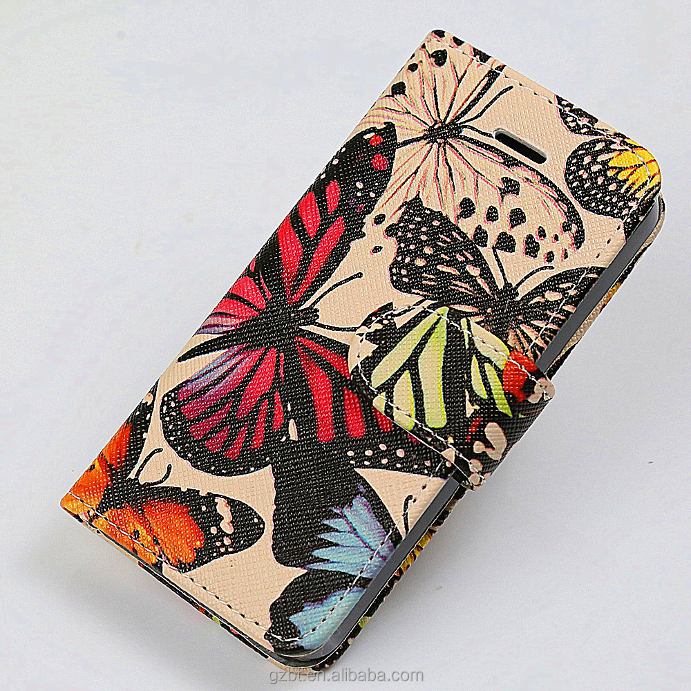 Companies looking for distributors magnetic printing leather flip cover for desire 728
