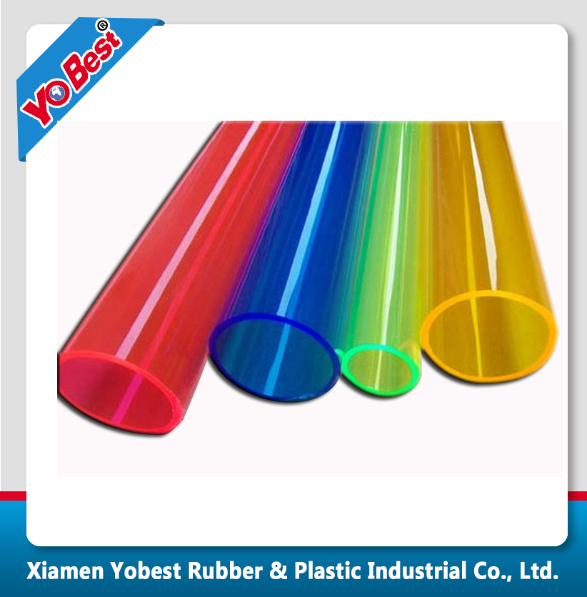 Full Size Decorative Plastic Tube /colored pvc pipe with Factory Price