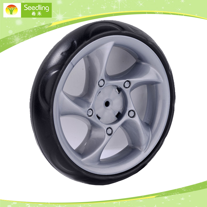 "EVA foam tyre antique Utility 8"" mining beach cart wheels For Easy Rolling"