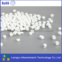 white masterbatch for sheet pp/hips/pvc/pet pellets