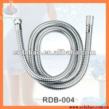 SS flexible shower head pipe extension